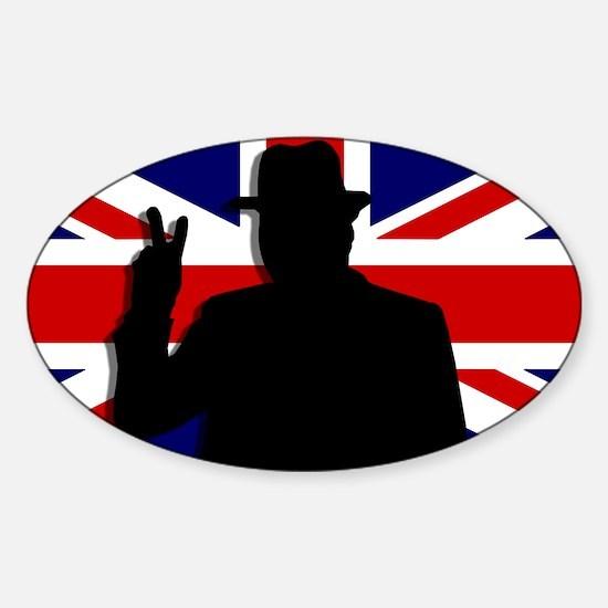 Winston Churchill Victory Decal