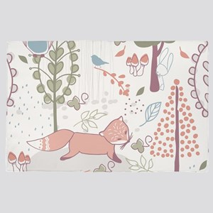 Whimsical Forest 4' x 6' Rug