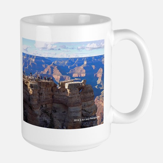 Grand Canyon Viewing Platform Large Mug Mugs