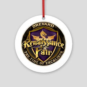Brevard Renaissance Fair Round Ornament