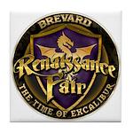 Brevard Renaissance Fair Tile Coaster