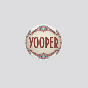 Retro Vintage Yooper Mini Button