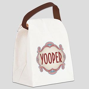 Retro Vintage Yooper Canvas Lunch Bag