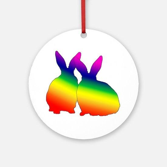 Bunny Love Ornament (Round)