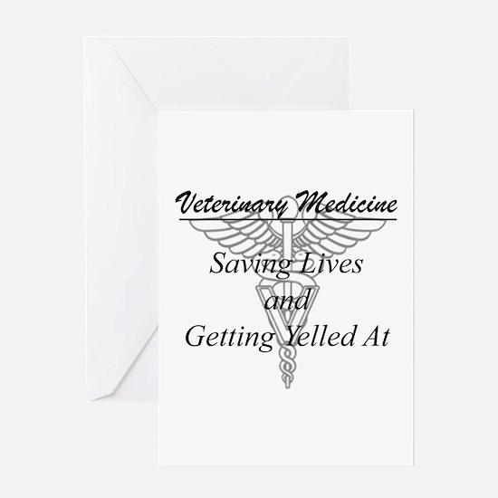 Defining Veterinary Medicine Greeting Cards