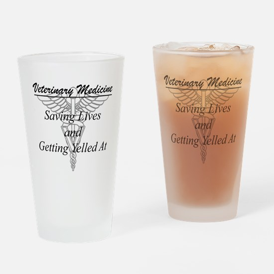 Defining Veterinary Medicine Drinking Glass