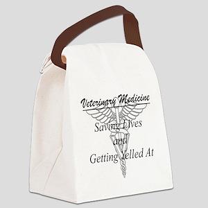 Defining Veterinary Medicine Canvas Lunch Bag