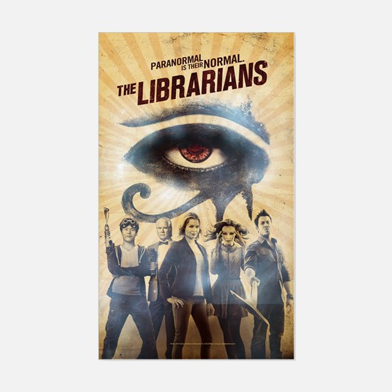 The Librarians Season 3 Sticker (rectangle)