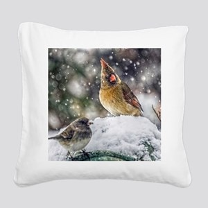 I've Got my Eye on You! Square Canvas Pillow