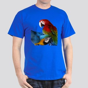 2 Macaws Dark T-Shirt