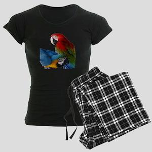 2 Macaws Women's Dark Pajamas