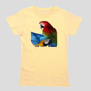2 Macaws Girl's Tee