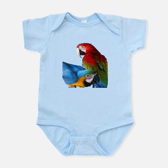 2 Macaws Infant Bodysuit