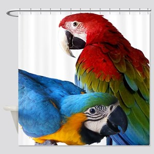 2 Macaws Shower Curtain