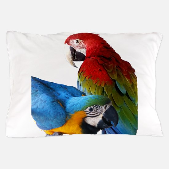 2 Macaws Pillow Case