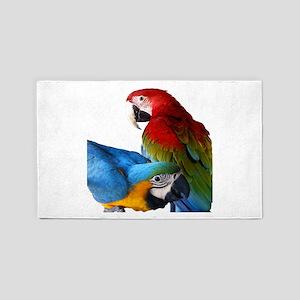 2 Macaws Area Rug