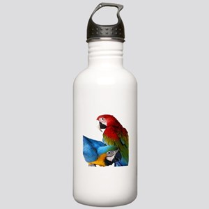 2 Macaws Stainless Water Bottle 1.0L