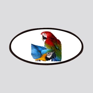 2 Macaws Patch