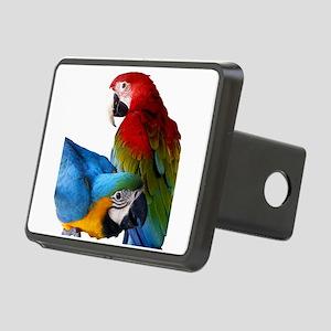 2 Macaws Rectangular Hitch Cover