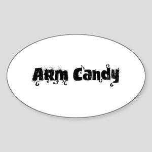 Arm Candy Oval Sticker