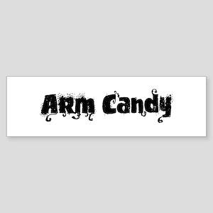 Arm Candy Bumper Sticker