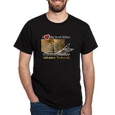 Editor Heart Dark T-Shirt