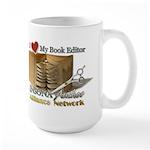 Editor Heart Large Mug