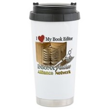 Editor Heart Stainless Steel Travel Mug