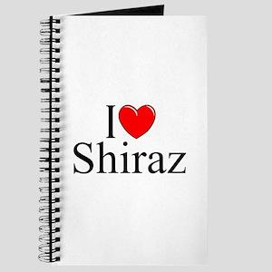 """""""I Love Shiraz"""" Journal"""