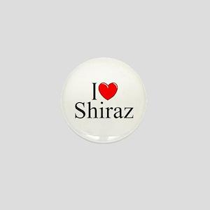 """I Love Shiraz"" Mini Button"