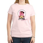 Wrong Chick Women's Pink T-Shirt