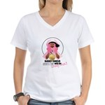 Wrong Chick Women's V-Neck T-Shirt