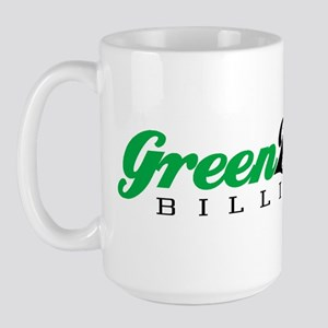 Green Zebra Billiards Large Mug