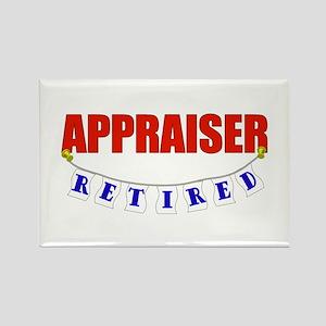 Retired Appraiser Rectangle Magnet