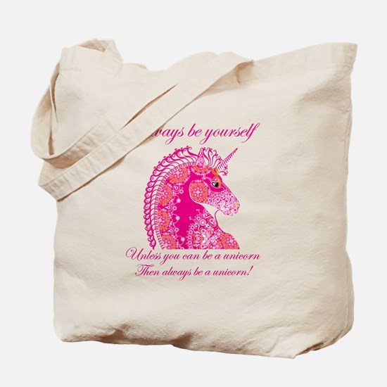 Unique Pink unicorn Tote Bag
