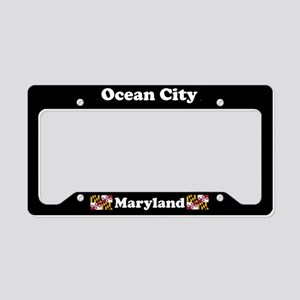 Ocean City MD License Plate Holder