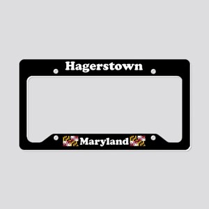 Hagerstown MD License Plate Holder