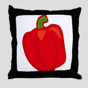 Bell pepper Throw Pillow