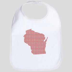 Red Dot Map of Wisconsin Bib