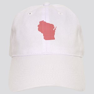 Red Dot Map of Wisconsin Cap