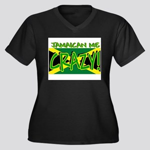JAMAICAN-CRAZY Plus Size T-Shirt