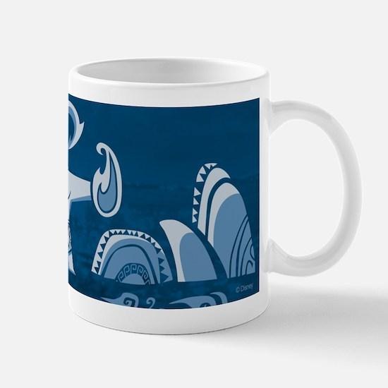 Moana Maui Blue Mug Mugs