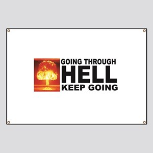 a bomb hell going Banner
