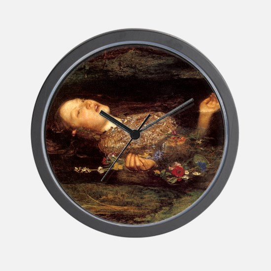 Millais Ophelia Wall Clock
