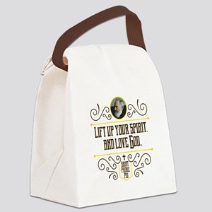 Life Up Your Spirit Canvas Lunch Bag