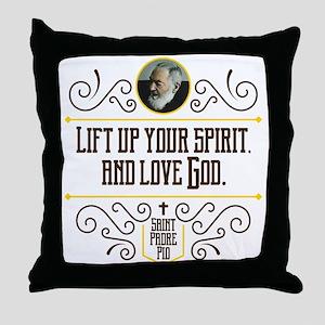 Life Up Your Spirit Throw Pillow