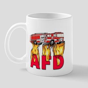 AFD Fire Department Mug