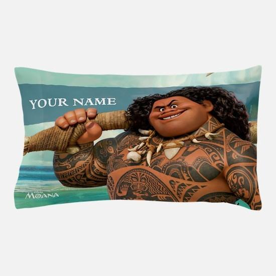 Moana Maui Personalized Pillow Case