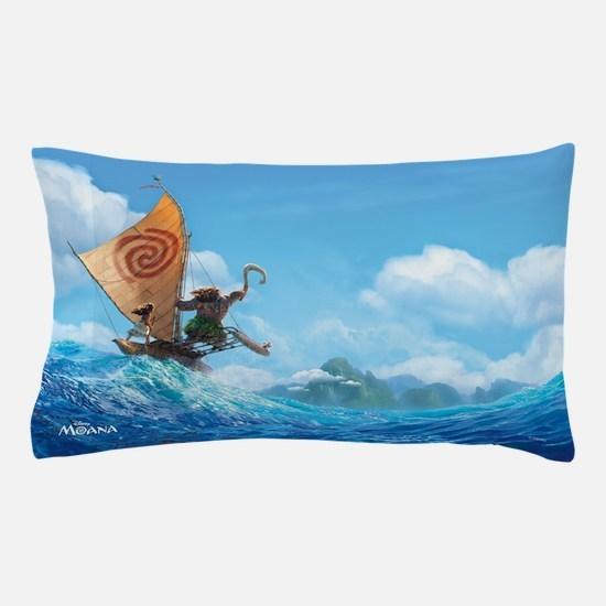 Moana Boat Pillow Case