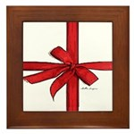 Gift Wrap Framed Tile